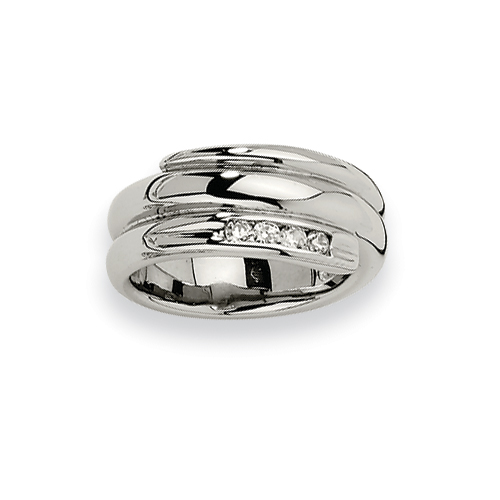 Chisel Stainless Steel Rings