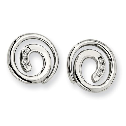 Chisel Stainless Steel Post Earrings